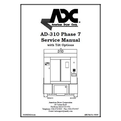 AD-310 PHASE 7 SERVICE MANUAL