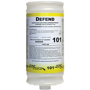DEFEND QUATERNARY CLEANER / DISINFECTANT (0.5 / QT)