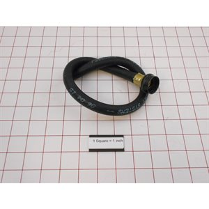 """HOSE,WTR,3 / 8X20""""FXNONE,G-THD REPLACES F200302"""